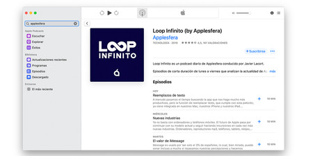 Apple Podcasts Loop Infinito