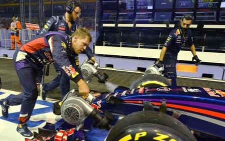 Sebastian Vettel no cree en la mala suerte