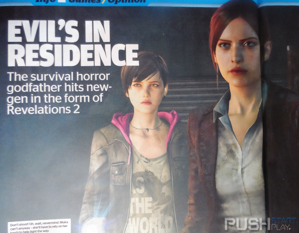 Foto de Resident Evil Revelations 2 revela a sus protagonistas-0 (1/5)