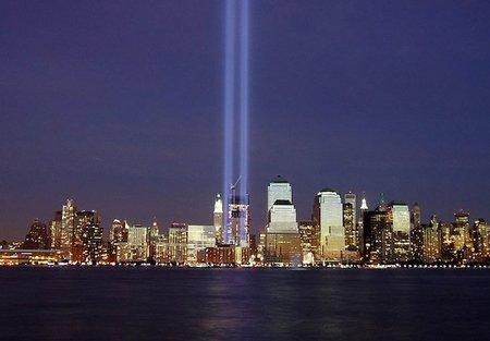 11 de septiembre: homenaje de luz en Nueva York