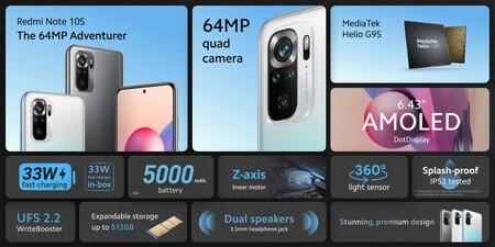 Xiaomi Redmi Note 10s Oficial Caracteristicas Tecnicas