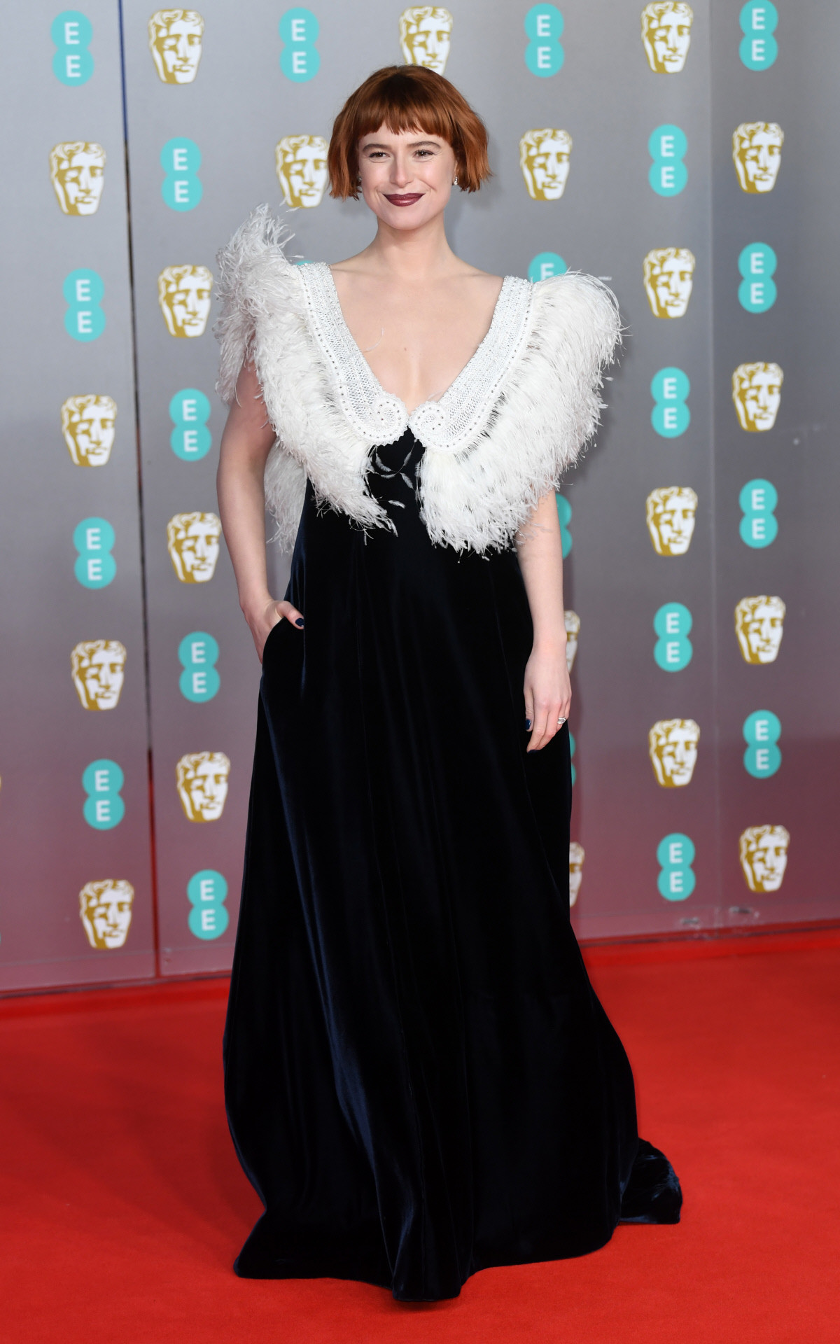 Jessie Buckley bafta 2020