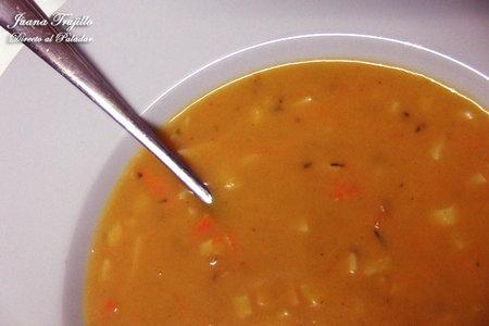 Otra sopa de tomate. Receta