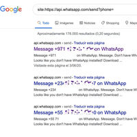 Miles de números de WhatsApp de España y fuera quedan expuestos en Google con una simple búsqueda [Actualizado]