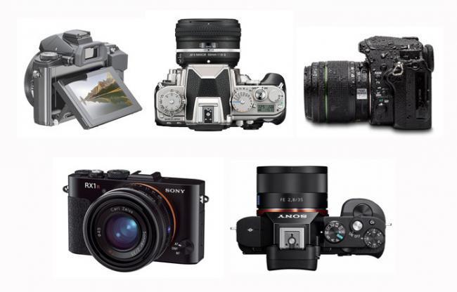 Las cinco cámaras que han marcado 2013, según Xataka Foto
