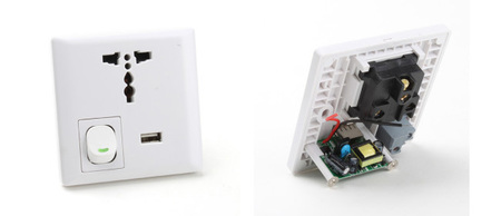 Enchufes USB para España