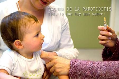 La vacuna de la parotiditis: todo lo que hay que saber