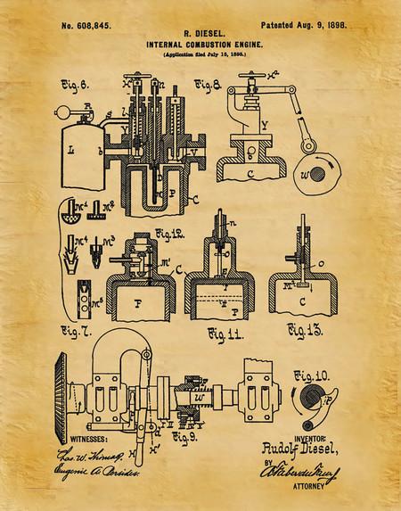 Rudolf Diesel Patente