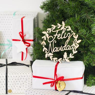 Knots Made with Love propone cinco tipos de adornos originales, mágicos y elegantes para Navidad