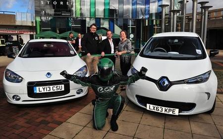 Comienza a operar un nuevo servicio de 'car sharing' con vehículos eléctricos en Londres