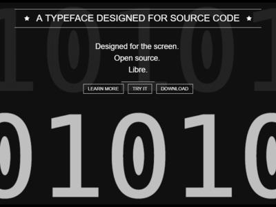 Han diseñado una tipografía ideal para escribir código y es open source