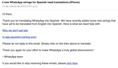 WhatsApp podría pedir una cuota de suscripción a los usuarios de iOS tal y como ha hecho en Android