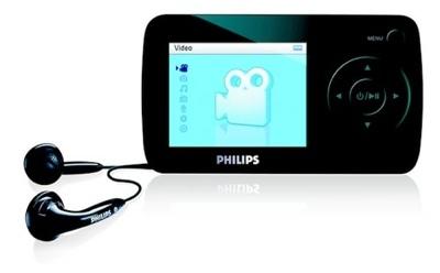 Philips GoGear SA6015 y SA6025