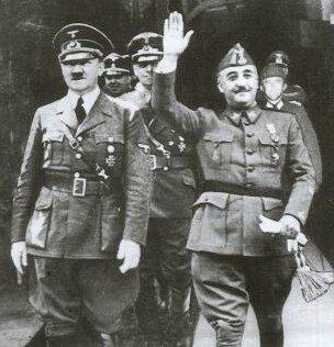 Franco y Hitler retocada