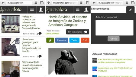 Xataka Foto estrena nueva versión móvil: ahora más y mejor