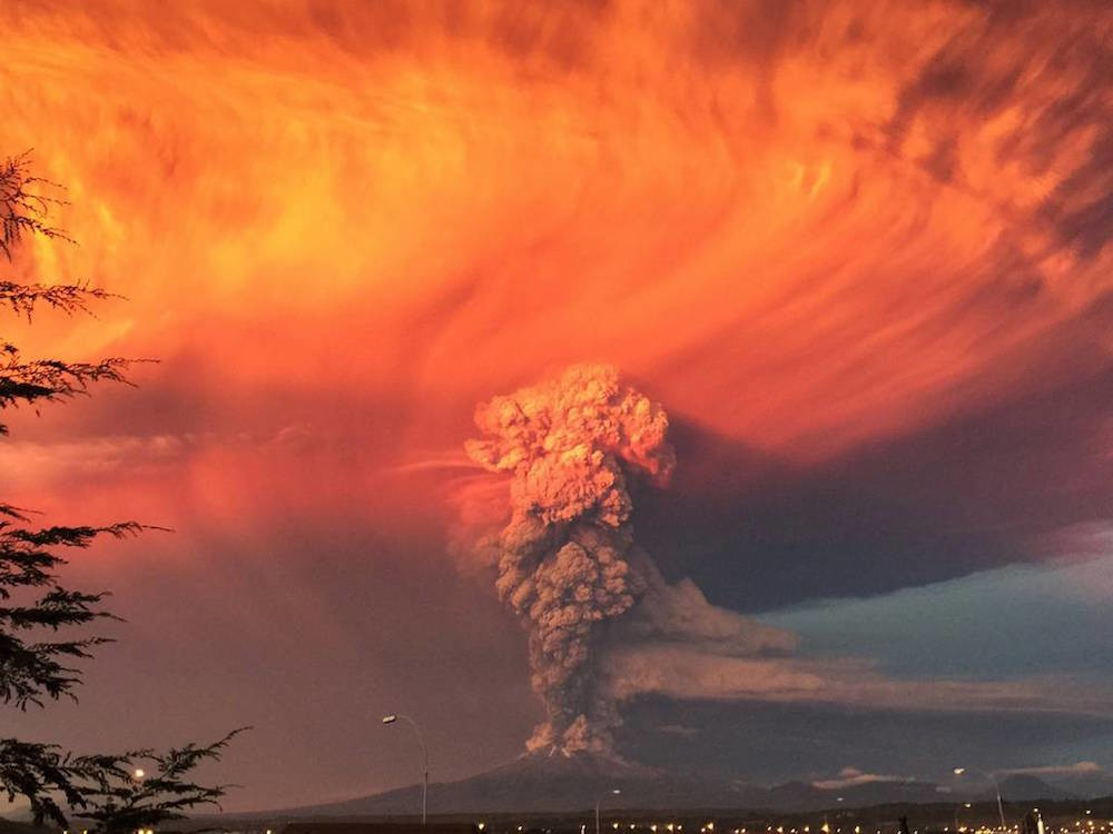 Vocan Calbuco Chile 3
