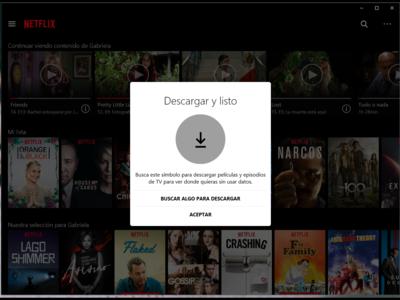 Si encuentras un error al descargar vídeos de Netflix puede deberse a alguna de estas limitaciones