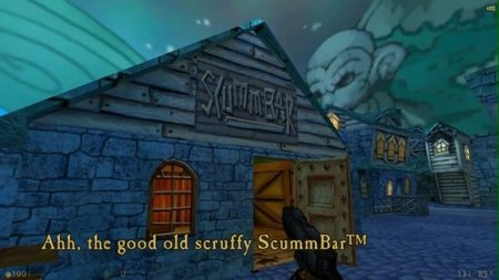 'The Secret of Monkey Island' se pasa al FPS gracias a un Mod