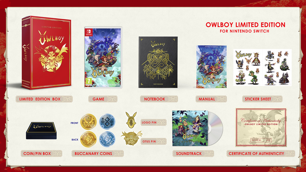 Owlboy Edicion Coleccionista Switch