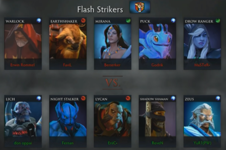 Union Penosa Vs Flash Strikers 2