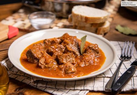 carne con tomate estilo andaluz