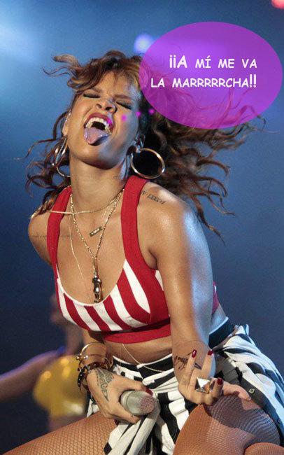 Rihanna, de fiesta con Chris Brown: ¡pero estamos tontos o qué!