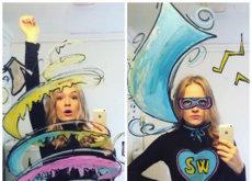 Cuando un selfie en el espejo se transforma en una increíble aventura