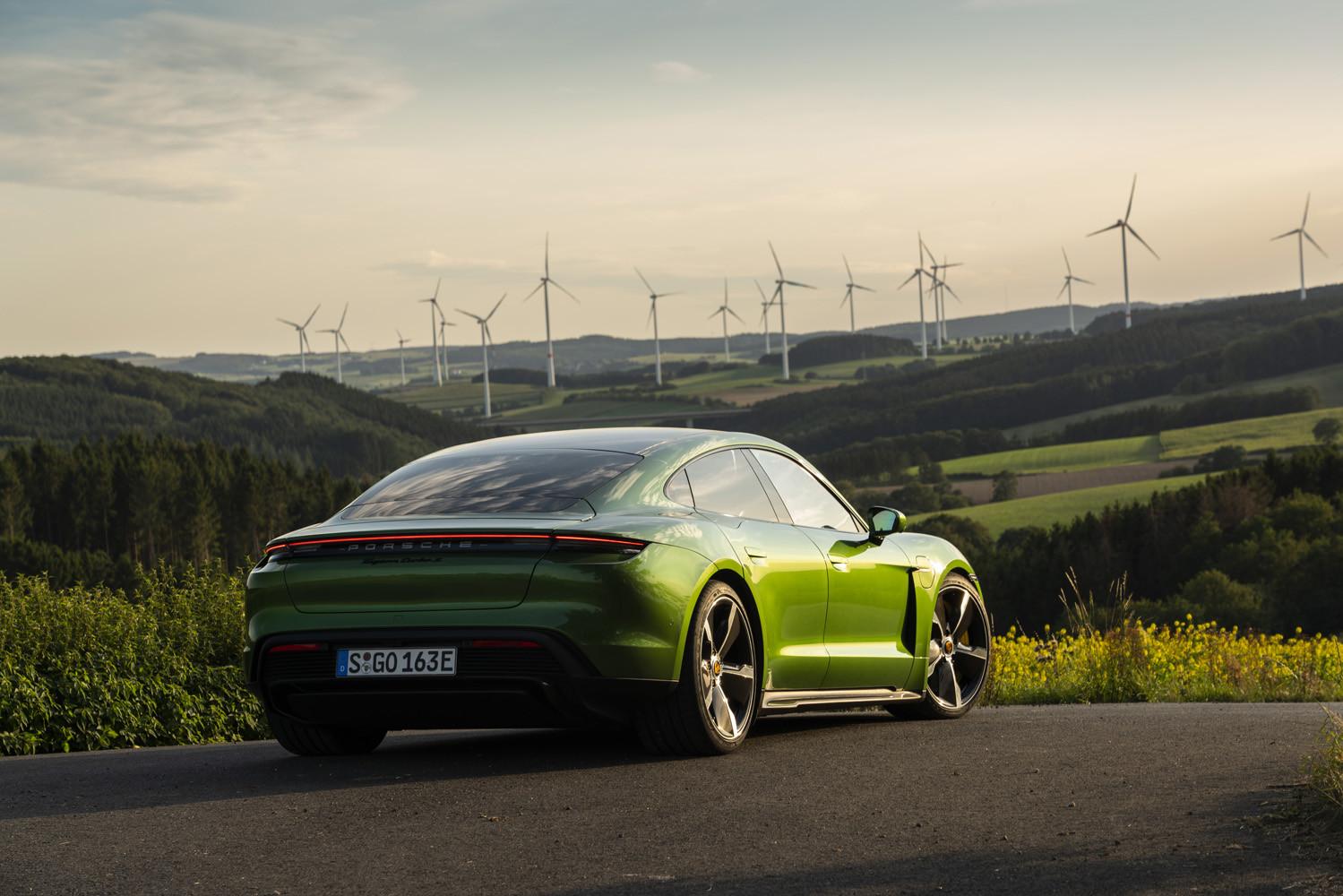 Foto de Porsche Taycan prueba contacto (231/275)