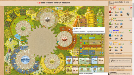 Board Game Arena: Tzolk in