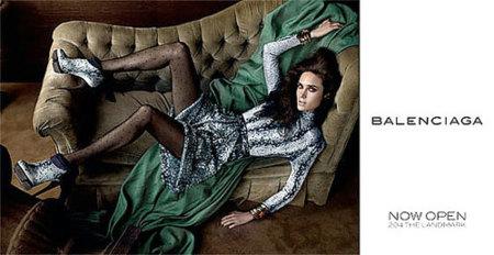 Jennifer Connelly imagen de Balenciaga Otoño-Invierno 2009/10
