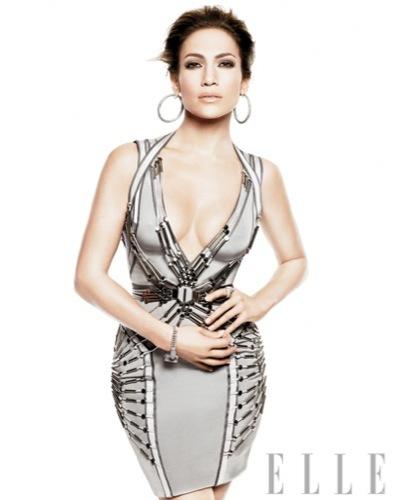 Jennifer Lopez en la portada de Elle: un estilo aburrido. Gucci