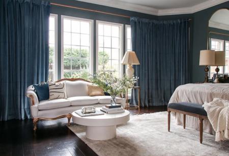 Antes y después: de dormitorio insulso y vacío a lujosa habitación de matrimonio de revista
