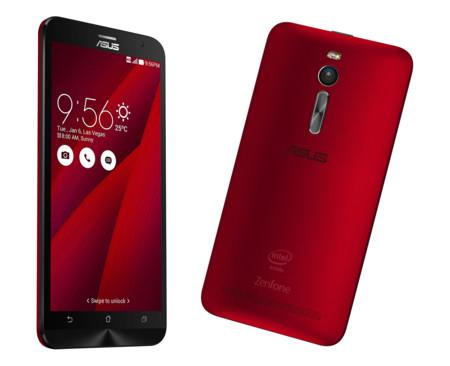 Asus Zenfone 2 Rojo