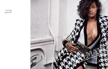 Rihanna para Balmain, ¡toma dos, más imágenes!