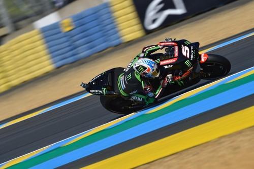 Johann Zarco pulveriza el récord del circuito para llevarse la pole de MotoGP en casa