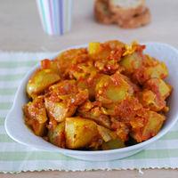 Patatas Bombay: receta de aperitivo o guarnición