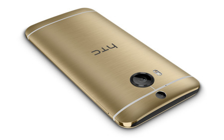 Htc One M9 Plus Gold Press Render
