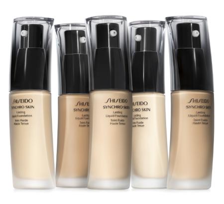 Synchro Skin Shiseido Tonos