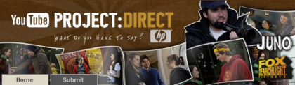 Project Direct, concurso de cortos de Youtube