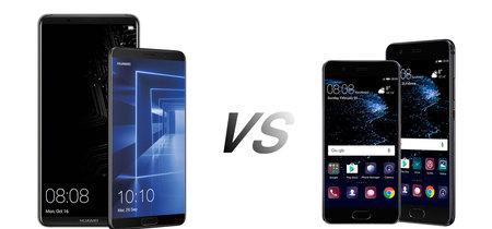 Huawei Mate 10 y Mate 10 Pro vs Huawei P10 y P10 Plus: así queda la gama alta de la firma china en 2017
