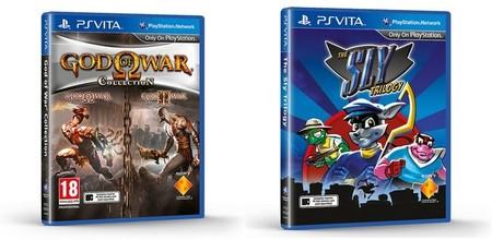God of War Collection y The Sly Trilogy llegarán a PS Vita en unos meses