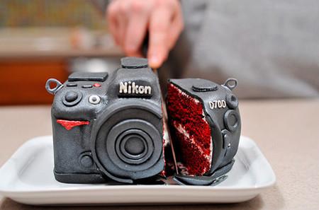 Cámara fotográfica o pastel