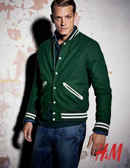 Look chaqueta Varsity Otoño 2012 H&M MAN