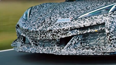 Chevrolet Corvette Z06 2022 Teaser