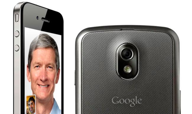 Apple habla con Google