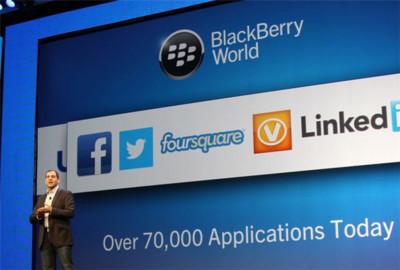 BlackBerry: solo el 20% de las aplicaciones para BB10 están basadas en Android