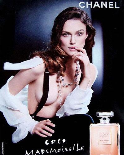 A Keira Knightley le aumentan el pecho en la campaña de Chanel
