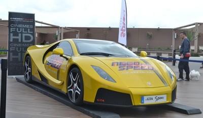 Need For Speed GTA Spano Tour, último fin de semana en Barcelona