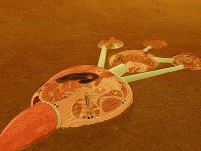 Emiratos se unen a la locura espacial y quieren construir una ciudad en Marte para 2117