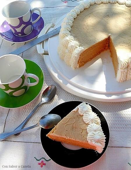 tarta de obleas